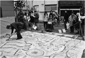 """Auf der """"Leihbrache"""" finden vielfältige Nachbarschaftsakivitäten statt   (Foto: Toshiyuki Makizumi)"""