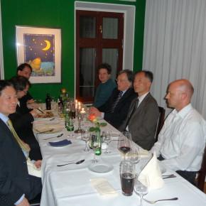 Austausch im Restaurant Fürstenwall
